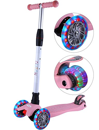 OUTON Kick Scooter For Kids 3 Wheel Scooter Lean To Ste...