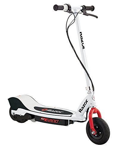 Razor E200 Electric Scooter - White/Red