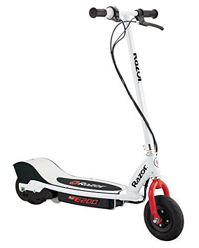 Razor E200 Electric Scooter - White/Red