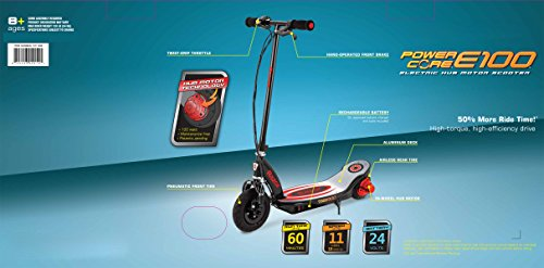 Razor Power Core E100 Electric Scooter with Aluminum De...