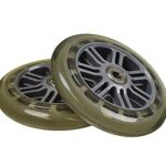 125 mm Wheel for the Razor A3 Kick Scooter, Clear Wheel Silver Hu…