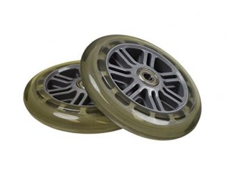 125 mm Wheel for the Razor A3 Kick Scooter, Clear Wheel Silver Hu...