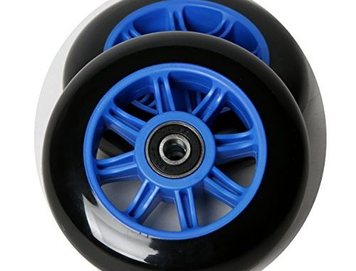 FREEDARE Scooter Wheels for Kick Scooter Replacement Wheels with ...