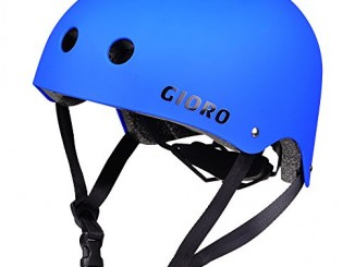 GIORO Skateboard Helmet Impact Resistance Safe Helmet with Ventil...