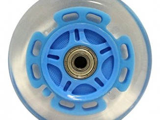 Kick Push LED Scooter Wheels with Abec9 Bearings for Razor Scoote...