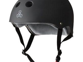 Triple 8 THE Certified Sweatsaver Helmet for Skateboarding, BMX, ...
